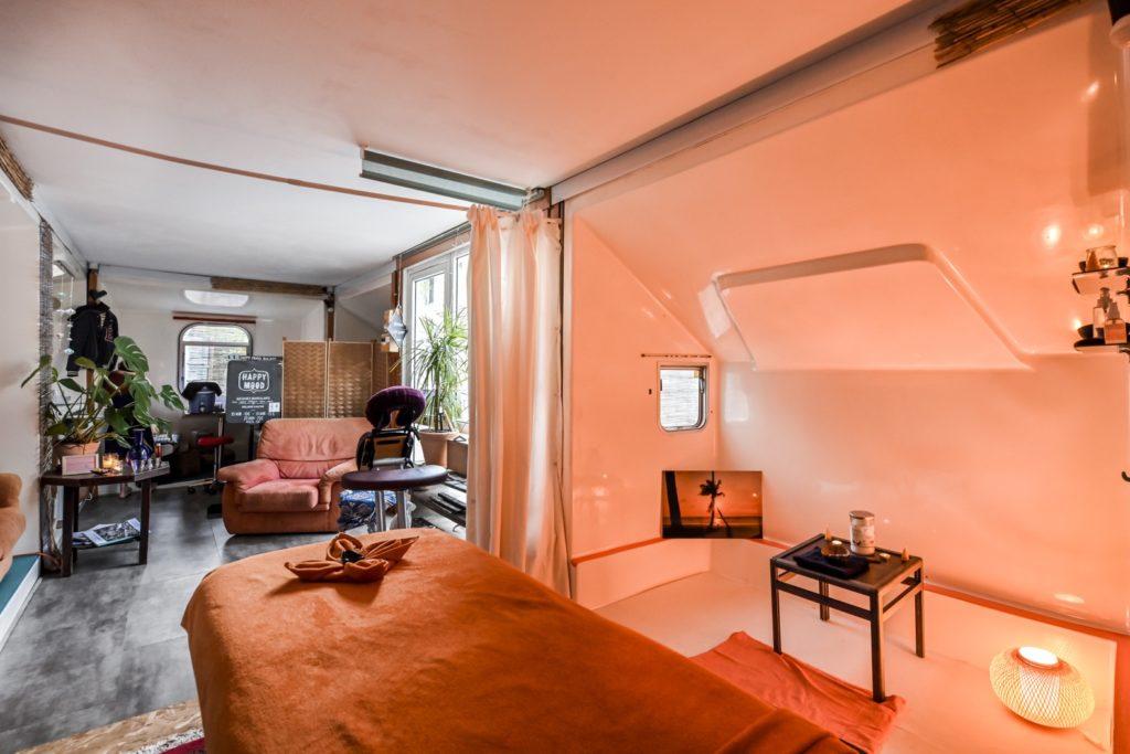 Image du studio de massage au cœur de Darwin Bordeaux